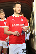 Barnsley defender Daniel Pinillos (23) takes to the field during the EFL Sky Bet League 1 match between Barnsley and Charlton Athletic at Oakwell, Barnsley, England on 29 December 2018.