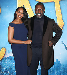 Taylor Swift at the premiere of 'Cats' in New York. 16 Dec 2019 Pictured: Idris Elba, Sabrina Dhowre. Photo credit: MEGA TheMegaAgency.com +1 888 505 6342