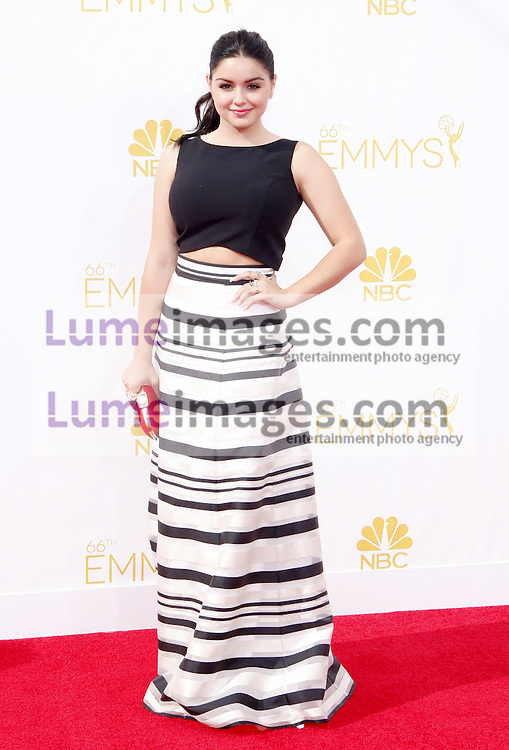 LOS ANGELES, CA - AUGUST 25, 2014: Ariel Winter at the 66th Annual Primetime Emmy Awards held at the Nokia Theatre L.A. Live in Los Angeles, USA on August 25, 2014.