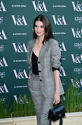 Margaret Clunie attending the VIP preview for the V&A Museum's Fashioned From Nature exhibition, in London