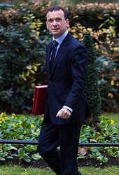 London, December 05 2017. Secretary of State for Wales Alun Cairns arrives at 10 Downing Street to attend the weekly cabinet meeting. © Paul Davey