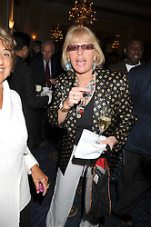 CAROL THATCHER at a party to celebrate the publication of Gemma Levine's book Mayfair, held at Claridge's, Brook Street, London on 16th June 2008.<br /><br />NON EXCLUSIVE - WORLD RIGHTS