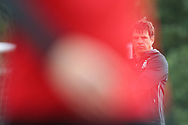 Chris Coleman, the Wales coach looks on during the  Wales football team training at the Vale Resort in Hensol , South Wales on Monday 2nd October 2017, the team are preparing for their FIFA World Cup qualifier away to Georgia this week. pic by Andrew Orchard, Andrew Orchard sports photography