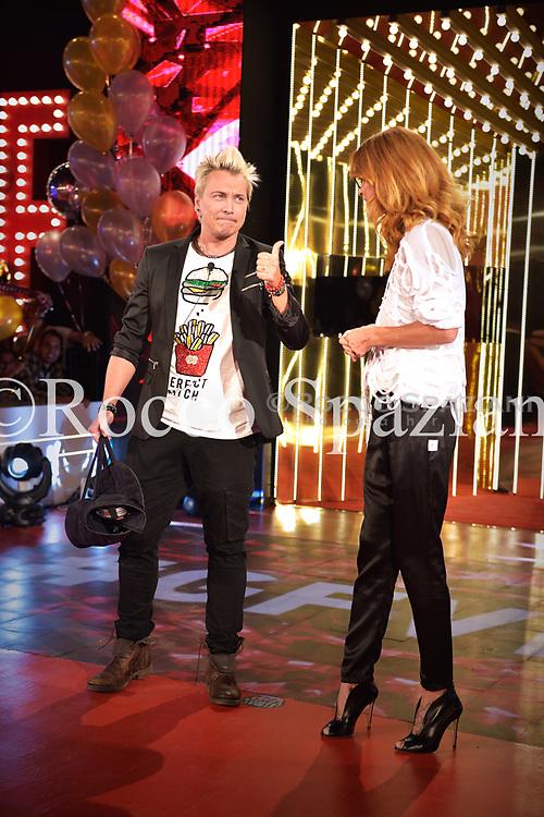 Jane Alexander e Andrea Mainardi concorrenti della terza edizione del Grande Fratello Vip 24 , Settembre 2018 Roma