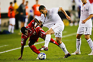 July 18 2009: Heath Pearce of USA goes against Ricardo Phillips of Panama during the game between USA and Panama. The United States defeated Panama 2-1 in added extra time in a CONCACAF Gold Cup quarter-final match at Lincoln Financial Field in Philadelphia, Pennsylvania.
