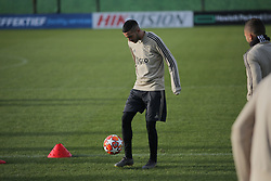 February 12, 2019 - Amsterdam, Netherlands - Ajax midfielder Dusan Tadic pictured during a training before UEFA Champions League match playoff 1/8 finals game between Ajax Amsterdam and Real Madrid at Amsterdam Arena on February 12, 2019 in Amsterdam Netherlands. (Credit Image: © Federico Guerra Moran/NurPhoto via ZUMA Press)