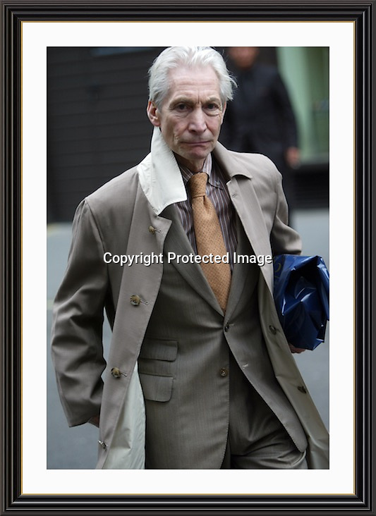Charlie Watts Mayfair London<br />