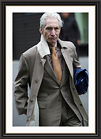 Charlie Watts Mayfair London<br /> Museum-quality A3 Archival signed Framed Photograph