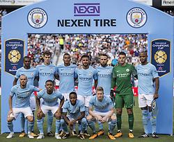 July 29, 2017 - Nashville, Tennessee, U.S.A - Manchester City Team Photo, pre game. (Credit Image: © Hoss Mcbain via ZUMA Wire)