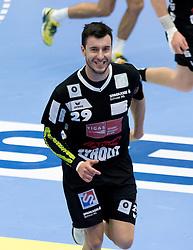12.11.2016, BSFZ Suedstadt, Maria Enzersdorf, AUT, HLA, SG INSIGNIS Handball WESTWIEN vs Sparkasse Schwaz HANDBALL TIROL, Grunddurchgang, 12. Runde, im Bild Damir Djukic (Sparkasse Schwaz HANDBALL TIROL) // during Handball League Austria, 12 th round match between SG INSIGNIS Handball WESTWIEN and Sparkasse Schwaz HANDBALL TIROL at the BSFZ Suedstadt, Maria Enzersdorf, Austria on 2016/11/12, EXPA Pictures © 2016, PhotoCredit: EXPA/ Sebastian Pucher