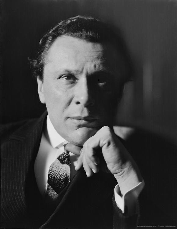 Walter von Molo, German Author and Screenwriter, 1927