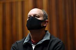 South Africa - Johannesburg - 06 July 2020 - Former VBS Mutual Bank chief financial officer Philip Truter appears in the Palm Ridge Commercial Court. He is facing 47 charges of fraud, theft, money laundering, corruption and racketeering. It is estimated that a R2.7 billion went missing from VBS.<br />