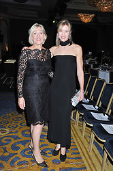 Left to right, HILARY DART and ALICE HART-DAVIS at the 20th CEW (UK) Achiever Awards 2012 - celebrating two decades of women, passion, beauty, held at the Hilton, park Lane, London on 16th October 2012.