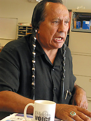 Russell Means in an interview with The Native Voice, Rapid City, SD 2003.