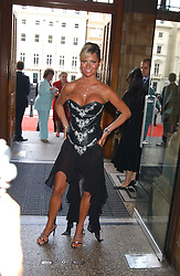 ALEX BEST at the opening party for Diamonds - a new exhibition at The Natural History Museum, London in association with De Beers held on 6th July 2005.<br /><br />NON EXCLUSIVE - WORLD RIGHTS