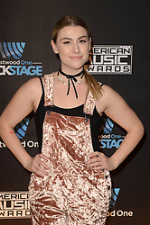 Westwood One Backstage at the American Music Awards Day 2 at the L.A. Live Event Deck. 19 Nov 2016 Pictured: Melanie Fontana. Photo credit: David Edwards / MEGA TheMegaAgency.com +1 888 505 6342