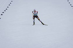04.03.2021, Oberstdorf, GER, FIS Weltmeisterschaften Ski Nordisch, Oberstdorf 2021, Herren, Nordische Kombination, Einzelbewerb, Langlauf, im Bild Johannes Lamparter (AUT) // Johannes Lamparter of Austria during the Cross Country Competition of men Nordic combined Single of FIS Nordic Ski World Championships 2021 in Oberstdorf, Germany on 2021/03/04. EXPA Pictures © 2021, PhotoCredit: EXPA/ Dominik Angerer
