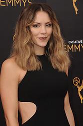 Katharine McPhee bei der Ankunft zur Verleihung der Creative Arts Emmy Awards in Los Angeles / 110916 <br /> <br /> *** Arrivals at the Creative Arts Emmy Awards in Los Angeles, September 11, 2016 ***