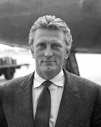 File photo dated 09/07/57 of Kirk Douglas, who is celebrating his 100th birthday today.