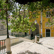 The small square of Santo Antoninho at Bica