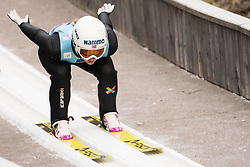 February 7, 2019 - Ljubno, Savinjska, Slovenia - Ingebjoerg Saglien Braaten of Norway competes on qualification day of the FIS Ski Jumping World Cup Ladies Ljubno on February 7, 2019 in Ljubno, Slovenia. (Credit Image: © Rok Rakun/Pacific Press via ZUMA Wire)