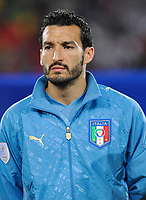 Fotball<br /> Egypt v Italia<br /> Foto: DPPI/Digitalsport<br /> NORWAY ONLY<br /> <br /> FOOTBALL - CONFEDERATIONS NATIONS CUP 2009 - GROUP B - 1ST ROUND - EGYPT v ITALY - 18/06/2009<br /> <br /> GIANLUCA ZAMBROTTA (ITA)