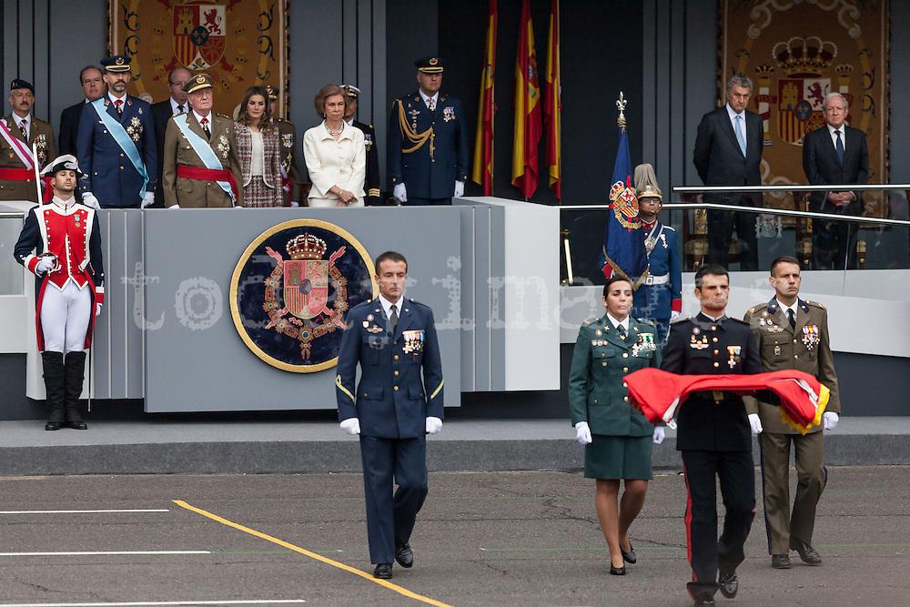 October 12th: Hispanic day parade