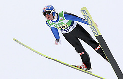 Anders Jacobsen (NOR) at Flying Hill Team in 3rd day of 32nd World Cup Competition of FIS World Cup Ski Jumping Final in Planica, Slovenia, on March 21, 2009. (Photo by Vid Ponikvar / Sportida)