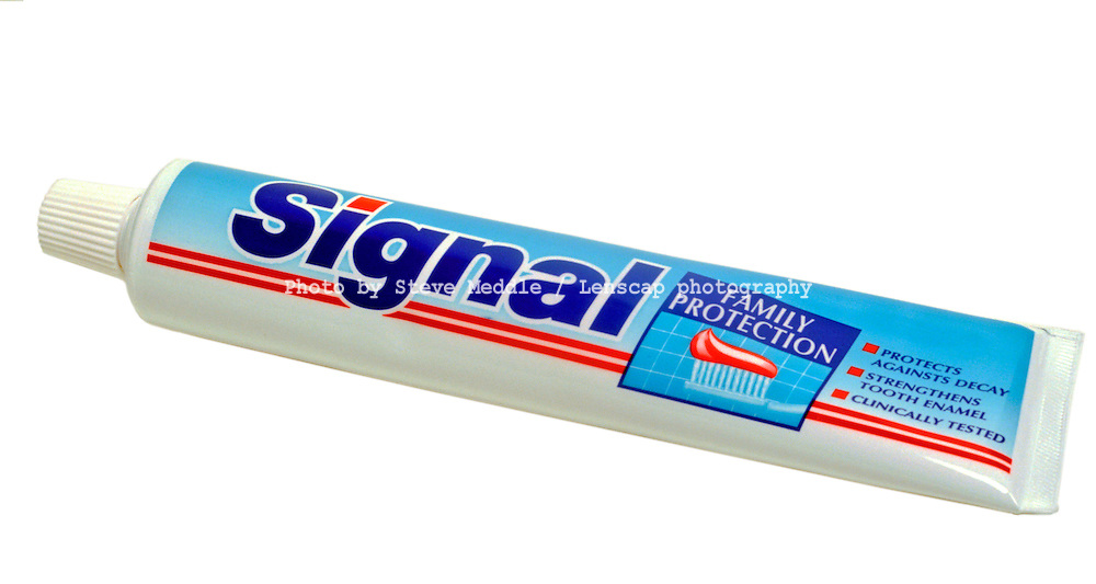 Tube of Signal Toothpaste