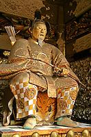 Colourful guardian at Futarasan Shrine, a UNESCO World Heritage Site in Nikko.