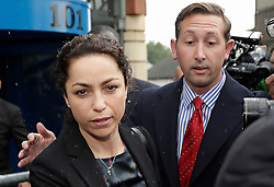 © Licensed to London News Pictures. 07/06/2016. Croydon, UK. Former Chelsea FC doctor EVA CARNEIRO leaves Croydon Employment Tribunal where a settlement has been reached between Chelsea Football Club and the clubs former doctor Eva Carniero over her unfair dismissal claim.. Photo credit: Peter Macdiarmid/LNP