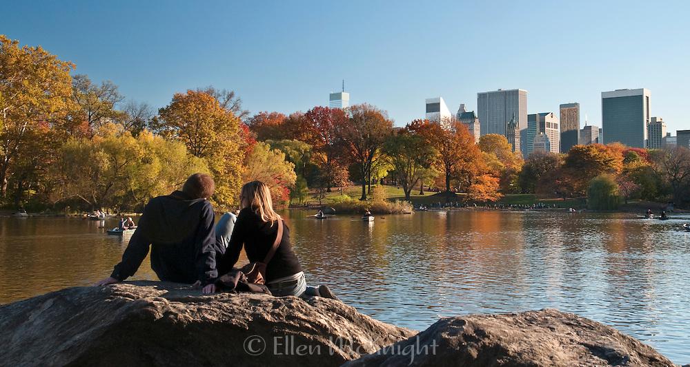 Autumn Color in Central Park, November 2010