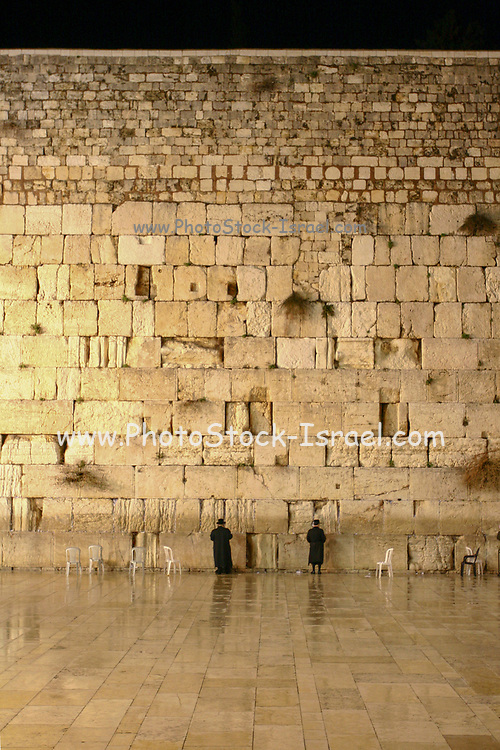 The wailing wall, Old City, Jerusalem, Israel