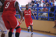 DESCRIZIONE : Varallo Torneo di Varallo Lega A 2011-12 Banco di Sardegna Sassari Cimberio Varese<br /> GIOCATORE : Justin Hurtt<br /> CATEGORIA :  Palleggio<br /> SQUADRA : Cimberio Varese<br /> EVENTO : Campionato Lega A 2011-2012<br /> GARA : Banco di Sardegna Sassari Cimberio Varese<br /> DATA : 10/09/2011<br /> SPORT : Pallacanestro<br /> AUTORE : Agenzia Ciamillo-Castoria/A.Dealberto<br /> Galleria : Lega Basket A 2011-2012<br /> Fotonotizia : Varallo Torneo di Varallo Lega A 2011-12 Banco di Sardegna Sassari Cimberio Varese<br /> Predefinita :