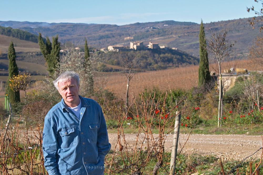 Jean-Louis Denois Domaine Jean Louis Denois. Limoux. Languedoc. Owner winemaker. France. Europe.