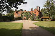 Woodhall manor Tudor house, Sutton, Suffolk, England used as a wedding venue