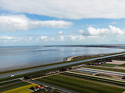 Nederland, Noord-Holland, Gemeente Anna Paulowna, 16-04-2012. Anna Paulownapolder met zicht op het Balgzand, rechts aan de horizon Wieringen..POlder and former island near Wadden sea. ..luchtfoto (toeslag), aerial photo (additional fee required);.copyright foto/photo Siebe Swart