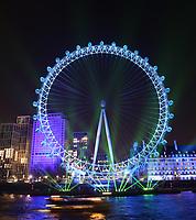 The london eye , United Kingdom - 01 Jan 2020 photo by Roger Alarcon