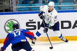 Robert Sabolic of Slovenia during ice hockey match between South Korea and Slovenia at IIHF World Championship DIV. I Group A Kazakhstan 2019, on April 30, 2019 in Barys Arena, Nur-Sultan, Kazakhstan. Photo by Matic Klansek Velej / Sportida
