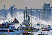 Australian Bicentennial Day celebrations in Sydney Harbour, Australia