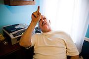 Joe TNT Olsavsky at home