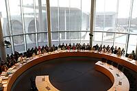 23 JUL 2003, BERLIN/GERMANY:<br /> Uebersicht Sitzungssaal, Sitzung des Europa-Ausschusses anlaesslich des Entwurfes einer Verfassung fuer Europa, Paul-Loebe-Haus<br /> IMAGE: 20030723-01-029<br /> KEYWORDS: Übersicht, Europa-Ausschuss