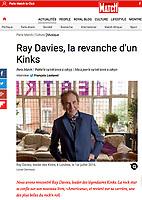 Ray Davies, The Kinks for Paris-Match