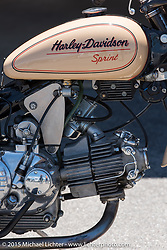 Harley-Davidson Sprint at the Vintage road races at New Hampshire Motor Speedway during Laconia Motorcycle Week. Laconia, NH, USA. June 14, 2015.  Photography ©2015 Michael Lichter.