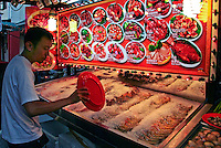 Seafood Display Chinatown Hawkers Centre, Singapore