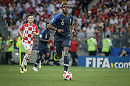 Paul Pogba of France during the 2018 FIFA World Cup Russia, final football match between France and Croatia on July 15, 2018 at Luzhniki Stadium in Moscow, Russia - Photo Thiago Bernardes / FramePhoto / ProSportsImages / DPPI