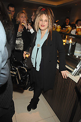 ELIZABETH EMANUEL at a party to celebrate the publication of Lisa B's book 'Lifestyle Essentials' held at the Cook Book Cafe, Intercontinental Hotel, Park Lane London on 10th April 2008.<br />