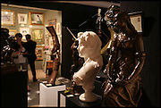 AT THE GARRET & HURST STAND at the preview of LAPADA Art and Antiques Fair. Berkeley Sq. London. 23 September 2014.