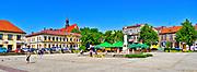 Rynek w Bochni.<br /> Market in Bochnia.