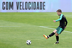 May 30, 2018 - Lisbon, Portugal - Portugal's midfielder Adrien Silva in action during a training session at Cidade do Futebol (Football City) training camp in Oeiras, outskirts of Lisbon, on May 30, 2018, ahead of the FIFA World Cup Russia 2018 preparation matches against Belgium and Algeria...........during the Portuguese League football match Sporting CP vs Vitoria Guimaraes at Alvadade stadium in Lisbon on March 5, 2017. Photo: Pedro Fiuzaduring the Portugal Cup Final football match CD Aves vs Sporting CP at the Jamor stadium in Oeiras, outskirts of Lisbon, on May 20, 2015. (Credit Image: © Pedro Fiuza/NurPhoto via ZUMA Press)